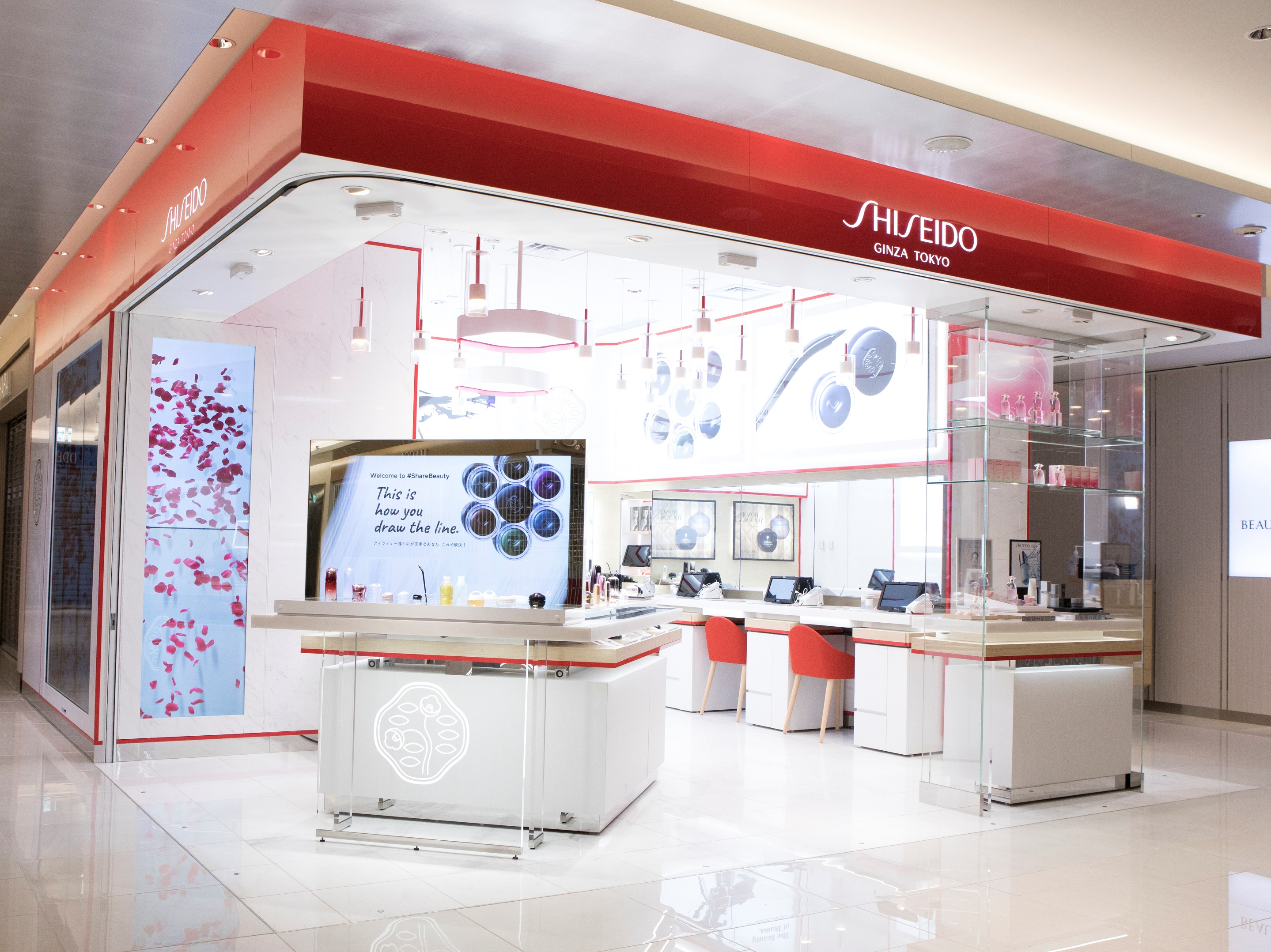 First In Japan Next Generation Cosmetics Counter With
