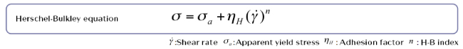 Herschel-Bulkley equation