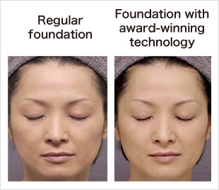 Regular foundation Foundation with award-winning technology