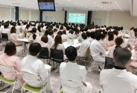 Consumer feedback seminar at factories in Japan and overseas