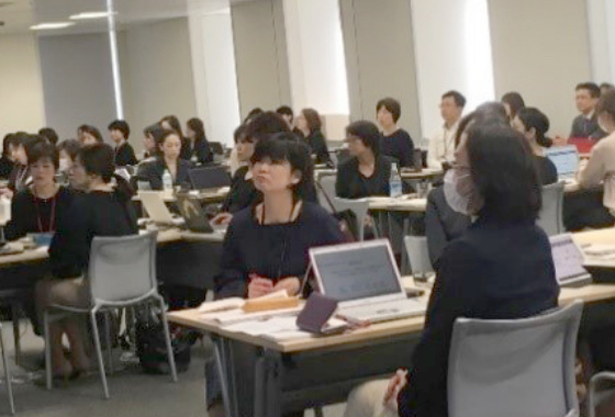 National-level CSL training meeting (Japan)